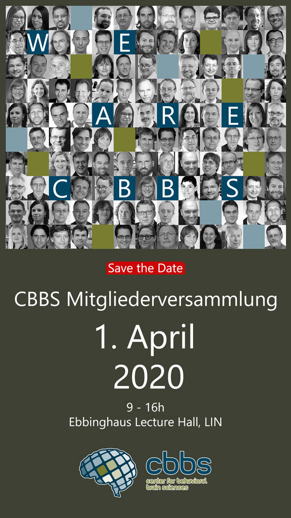 Save the Date CBBS MV 2020